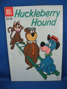 HUCKLEBERRY HOUND 4 Fine 1960 Hanna Barbera
