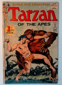 Tarzan #207 DC 1972 VF- Comic Book Key Origin of Tarzan Origin John Carter