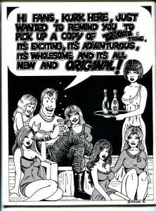 Trekkie Toons 1976-Star Trek Comic Fanzine-paper dolls-VF