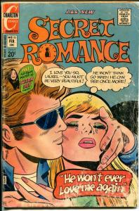 Secret Romance #23 1972-Charlton-handicapped romance cover-Susan Dey-G-