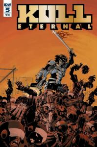 KULL ETERNAL (2017 IDW) #5 PRESALE-07/31