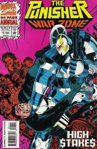 Punisher: War Zone (1992 series) Annual #1, NM (Stock photo)