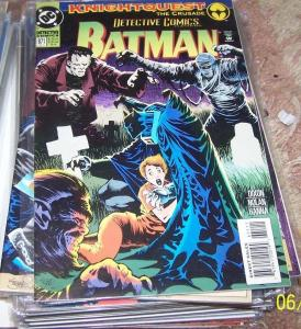 DETECTIVE COMICS  # 671  1993 dc BATMAN DC AZRAEL ROBIN +THE JOKER+