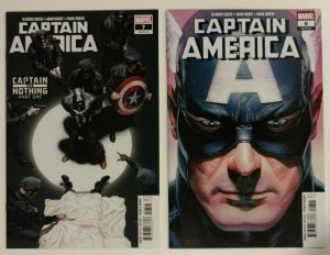 Captain America 7 & 8 (2019) Alex Ross Covers NM or better!!