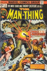 Man-Thing #11 (ungraded) stock photo / ID#00E