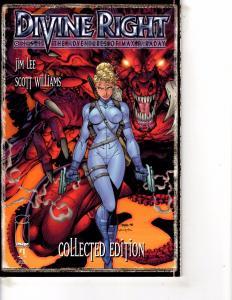 Lot Of 2 Divine Right Image Comic Books #1 2 Batman  DC1