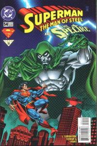 Superman: The Man of Steel #54, NM- (Stock photo)