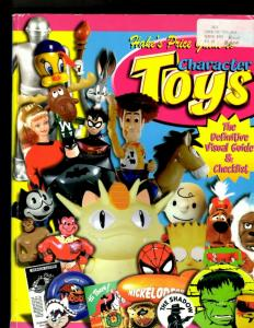Hake's Price Guide To Character Toys Visual Guide & Checklist Book Gemstone JL20