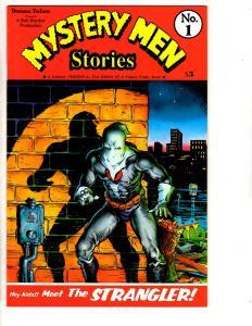Mystery Men Stories # 1 NM Draconian Features Comic Book Bob Burden TD12