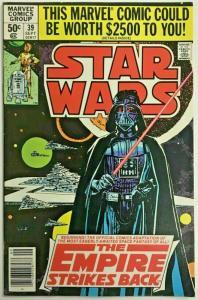 STAR WARS#39 VF/NM 1980 EMPIRE STRIKES BACK MARVEL BRONZE AGE COMICS