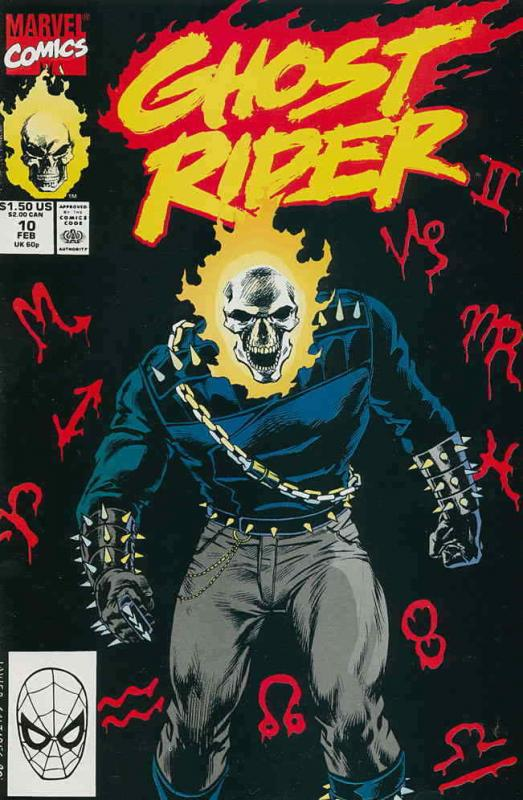 Ghost Rider (Vol. 2) #10 FN; Marvel | save on shipping - details inside