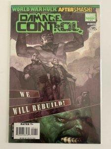 World War Hulk: After-smash Damage Control #1 of 3  Marvel Comics NM
