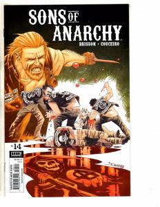Lot Of 7 Sons Of Anarchy BOOM! Studios Comic Books # 14 17 18 19 20 21 22 J270
