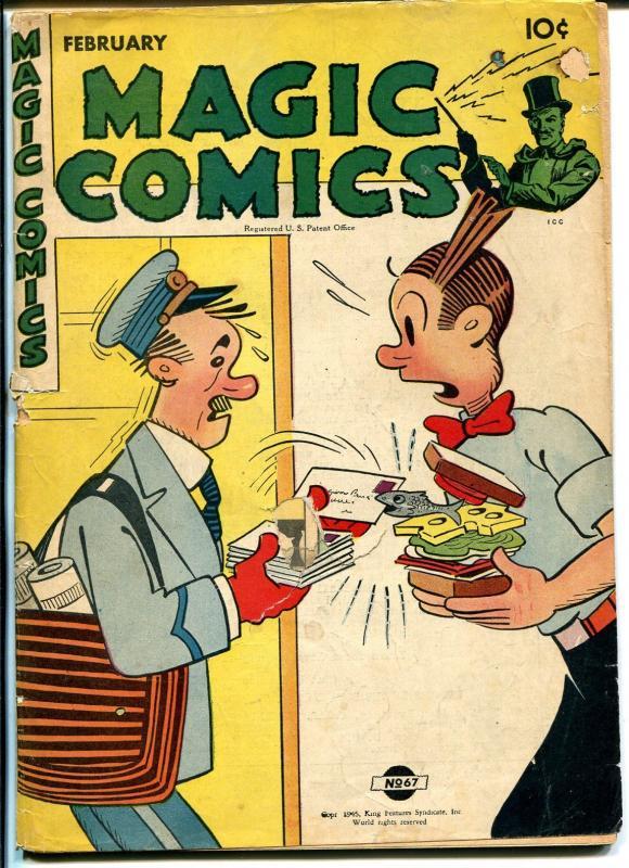 Magic  #67 1945-David McKay-Blondie-Lone Ranger-Mandrake-G-