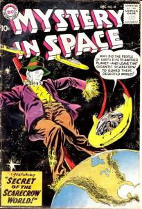 MYSTERY IN SPACE #48-FLYING SAUCER COVER VG