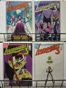 LEGIONNAIRES 3 (1986) 1-4 THE SET!