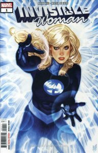 Invisible Woman #1 VF/NM; Marvel | save on shipping - details inside