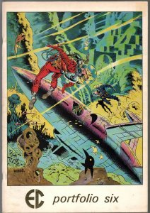EC Portfolio Six #6 1977-Wally Wood cover-Berni Krigstein-Graham Ingles-FN+