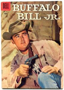 Buffalo Bill Jr- Four Color Comics #766 1957- Western Dell VG