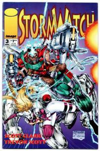 Stormwatch #3 (Image, 1993) VF/NM
