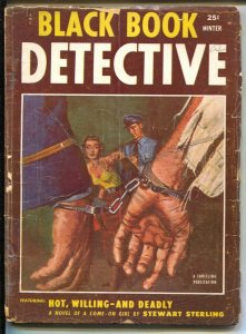 Black Book Detective-Winter 1953-Thrilling-final issue-Last Tony Quinn-G