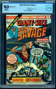 Giant-Size Doc Savage #1 CBCS VF/NM 9.0 White Pages