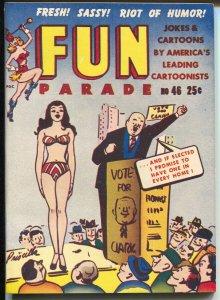 Fun Parade #46-Summer 1950-Priscilla-swimsuit-Snoopy-gags-cartoons-NM