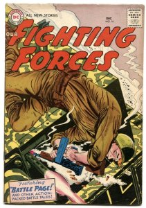 Our Fighting Forces #16 1956- DC Silver Age War comic F/VF