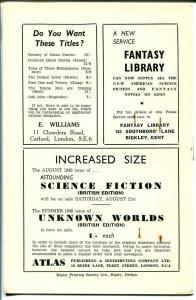 Fantasy Review 8/1948-British fanzine-pulp-fantasy-VF