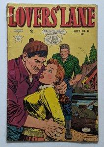 Lovers' Lane #35 (Jul 1953, Lev Gleason) Good 2.0 Fred Kida cover