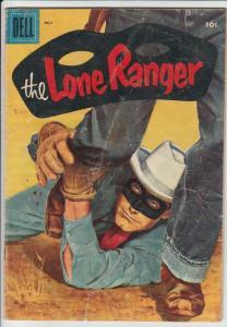 Lone Ranger, The #97 (Jul-56) VG Affordable-Grade The Lone Ranger, Tonto, Silver