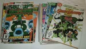 Green Lantern V2 #172-200 (incom.) Corps V1 #201-224 (miss. 3) comics lot of 41