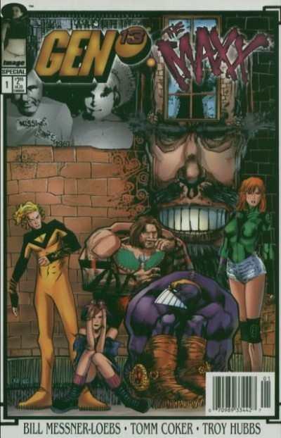 Gen 13 1995 series # 3 near mint comic book