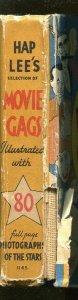 HAP LEE'S MOVIE GAGS #1145 1935-WHITMAN-BIG LITTLE BOOK-MOVIE STARS-good/vg