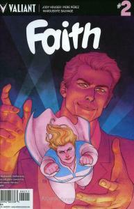 Faith (Valiant, 2nd Series) #2A FN; Valiant | save on shipping - details inside