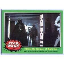 1977 Topps Star Wars STALKING THE CORRIDORS OF DEATH STAR #204 EX/MT