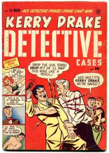 Kerry Drake Detective Cases #13 1949- Bob Powell- Golden Age Crime VG