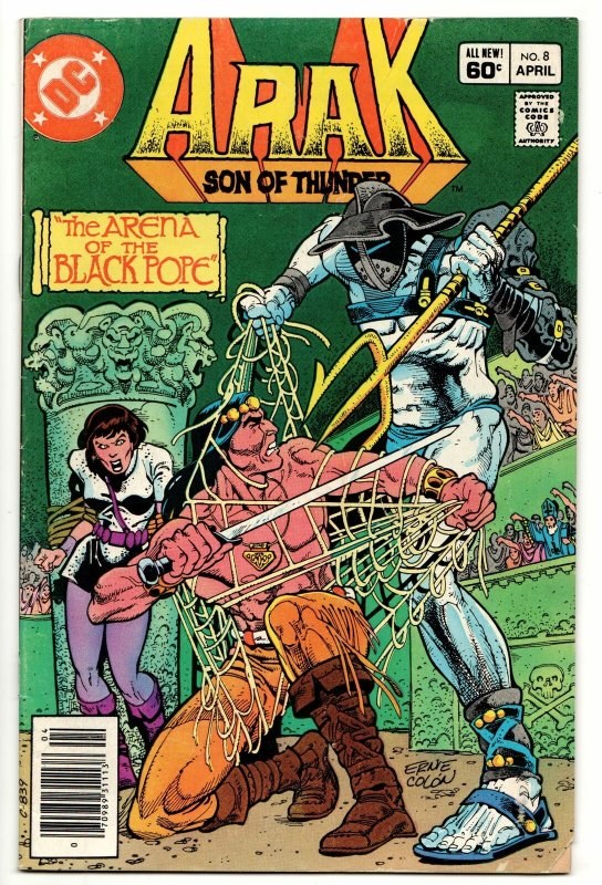 Arak Son of Thunder #8 (DC, 1982) VG