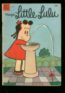 MARGE'S LITTLE LULU #86 1955-DELL COMICS-WATER FOUNTAIN G