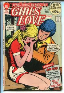 Girls' Love Stories #167 1972-DC-The Bad Seed-Giant Edition-rare-VG