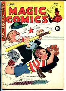 Magic #71 1945-McKay-Mandrake-Dagwood-Popeye-Lone Ranger-Blondie-Ray Crane-VF-