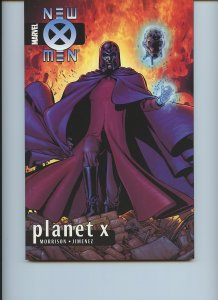 NEW X-MEN: PLANET X (Marvel, Softcover) First edition - Grant Morrison!
