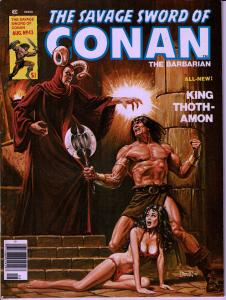 Savage Sword of Conan #43 - Early Conan Magazine - 6.0 or Better