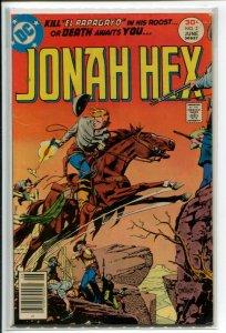 JONAH HEX (1977 DC) #2 VG+ A00722