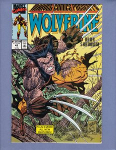 Marvel Comics Presents #43 NM- Wolverine Iron Man Marvel 1990