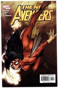 New Avengers #4-first Maria Hill-spider-woman Cover-2005.