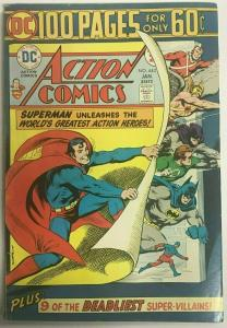 ACTION COMICS#443 FN/VF 1975 DC 100 PAGE GIANT  BRONZE AGE COMICS