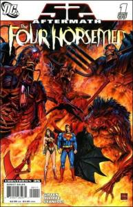 DC 52 AFTERMATH: THE FOUR HORSEMAN #1 VF
