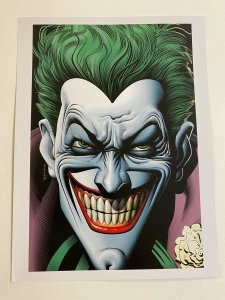 Joker DC Comics poster by Brian Bolland