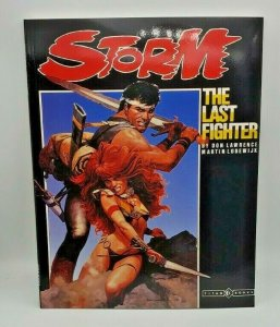 STORM: THE LAST FIGHTER #1 Graphic Novel 1987 NM+
